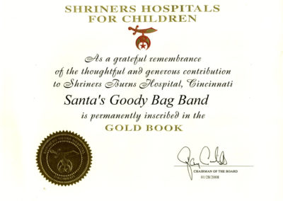 Shriners Gold Book